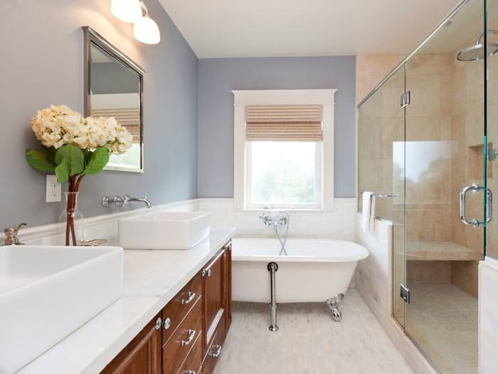 Interior house painting contractors in imperial for Bathroom interior images